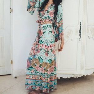 Spell & The Gypsy Collective Skirts - Spell Lotus Maxi Split Skirt!